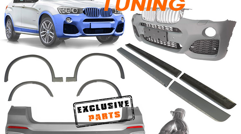 Kit Exterior BMW X4 F26 (14-18) M-Tech Design