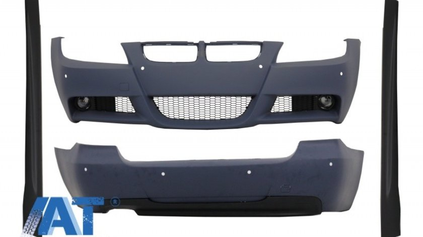 Kit Exterior compatibil cu BMW Seria 3 E90 (2004-2008) M-Technik Design