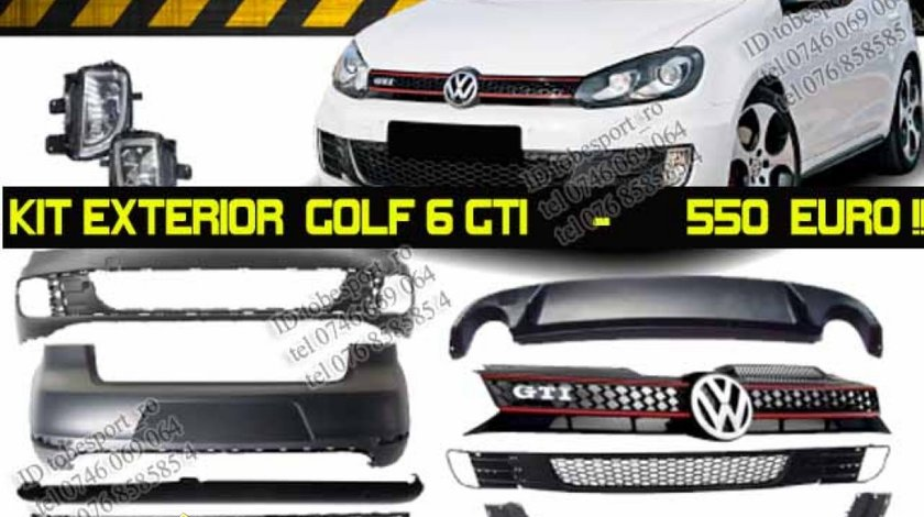 Kit Exterior GOLF 6 GTI COMPLET