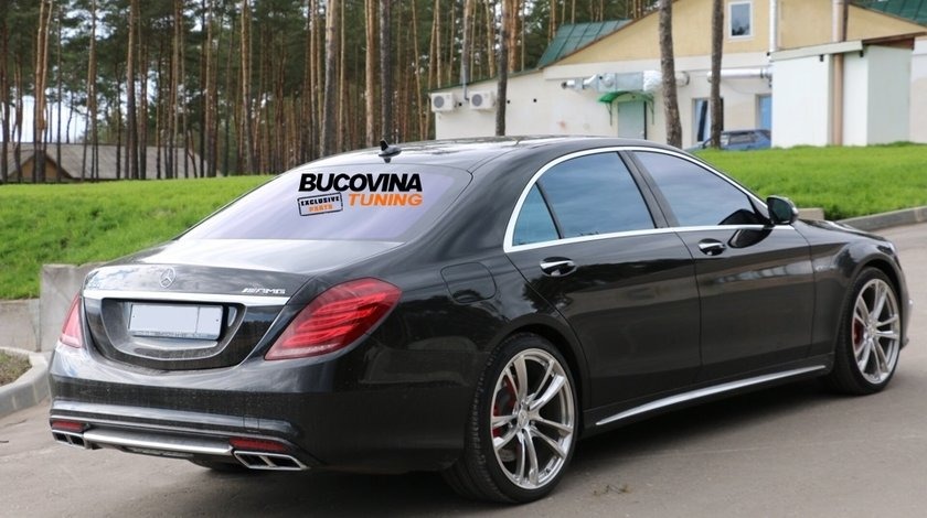 KIT EXTERIOR MERCEDES BENZ S CLASS W222 S65 AMG (DUPA 2012)
