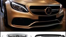 KIT EXTERIOR MERCEDES C CLASS W205 AMG C63 DESIGN