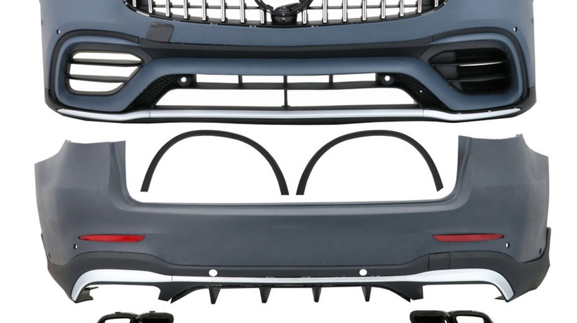 Kit Exterior Mercedes GLC SUV X253 Facelift (Dupa 2020) GLC63 Design