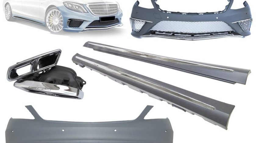 KIT EXTERIOR MERCEDES S CLASS W222 S65 AMG