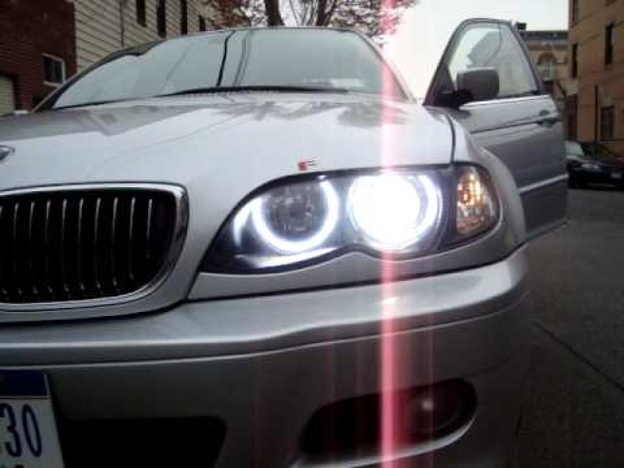 Kit Far BMW E46 Lupe Bixenon+Xenon Canbus+Inele Angel Eyes