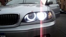 Kit Far BMW E46 Lupe Bixenon+Xenon Canbus+Inele An...