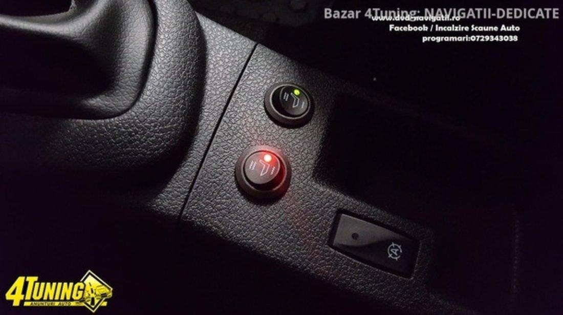Kit Incalzire In Scaune Auto Carbon KEETEC CSH1 by Edotec Butoane HI / OFF / LOW DEDICAT MITSUBISHI