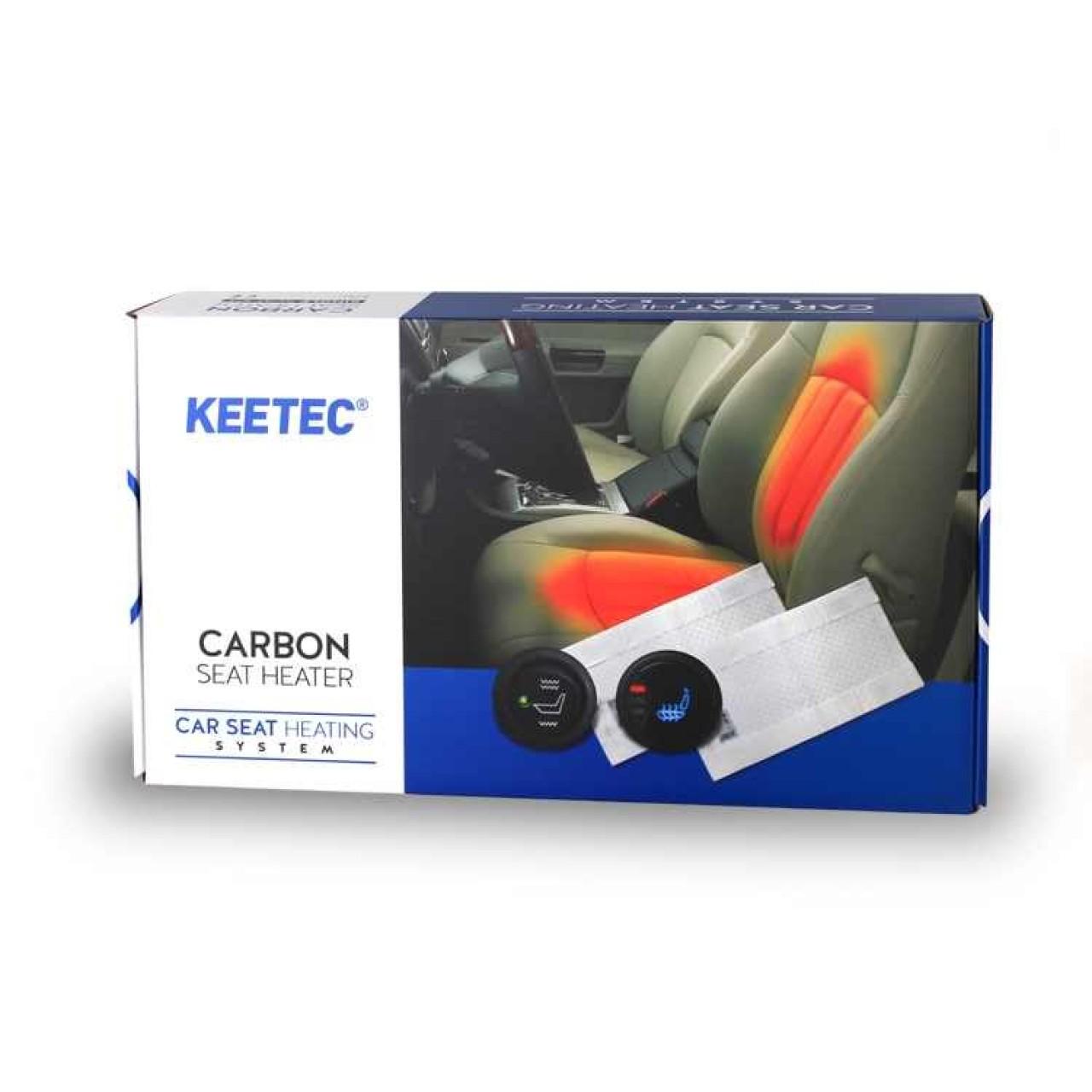 Kit Incalzire In Scaune Auto Honda KEETEC CSH2 Carbon Butoane OEM 3 Pozitii Montaj Profesional