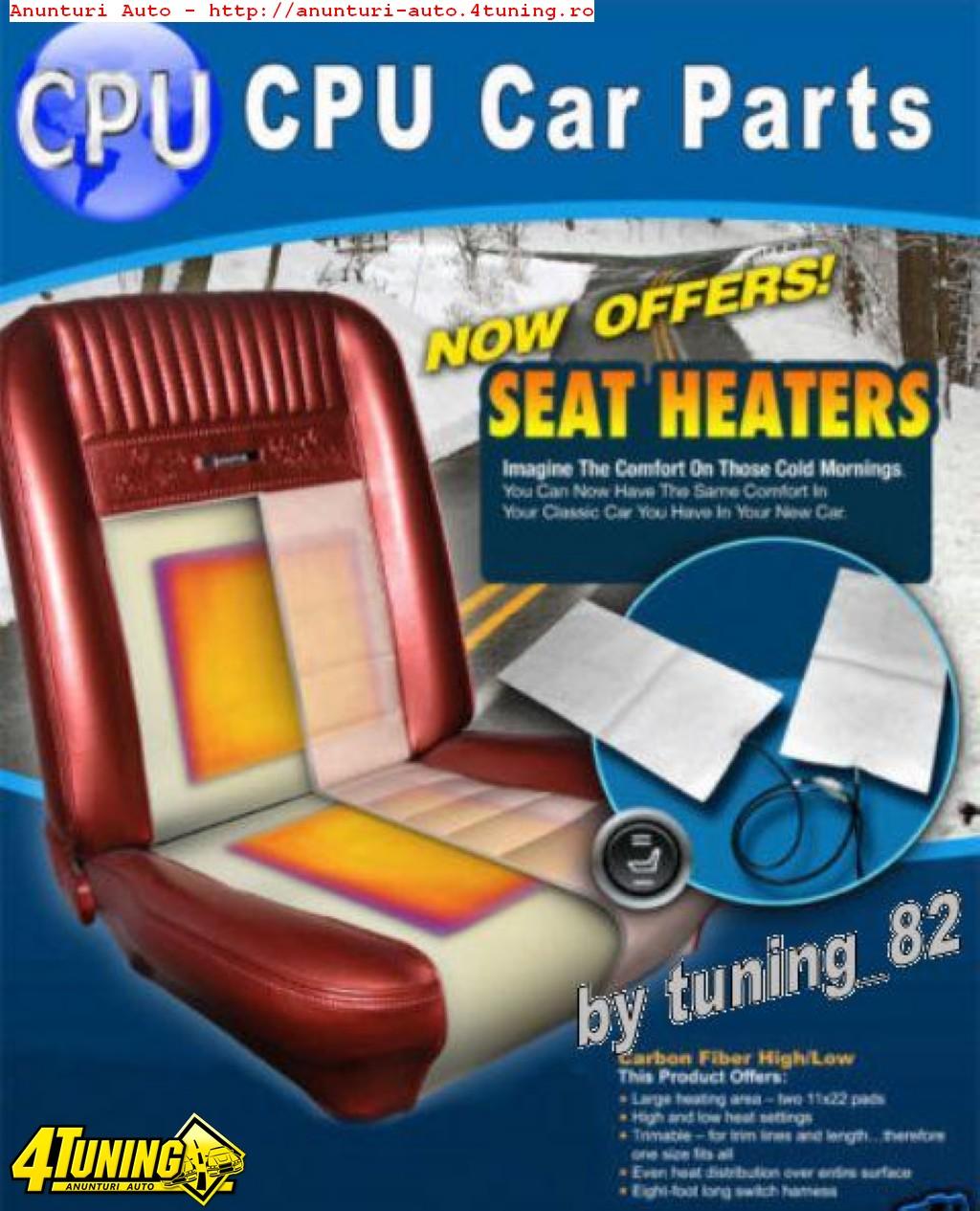 Kit Incalzire In Scaune Carbon Dedicat BMW SERIA 1 3 5 7 8 M3 M5 M6 X1 X3 X5 Montaj Calificat