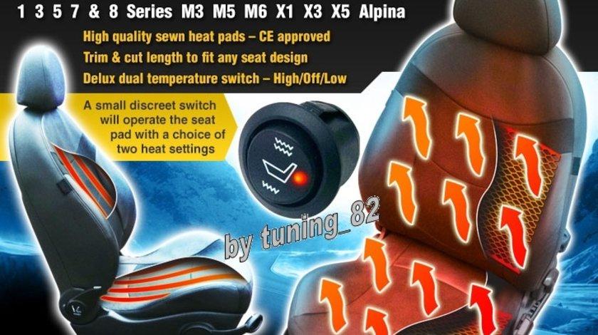 Kit Incalzire In Scaune Carbon Dedicat Bmw Seria 1 3 5 7 8 M3 X1 X3 X5