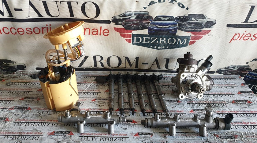 Kit injectie complet Audi A6 C7 Facelift 3.0 TDI 204 cai motor CLAB