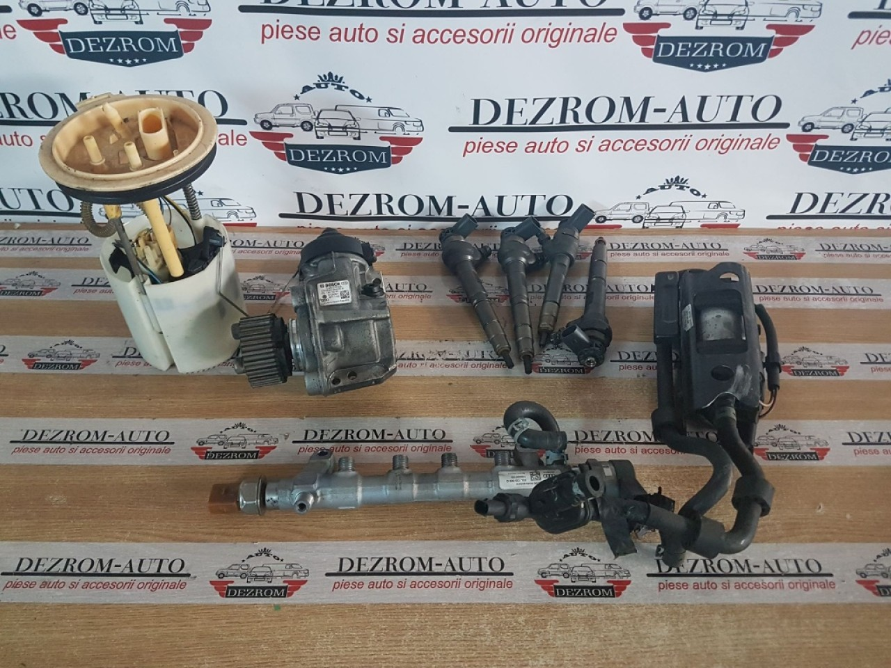 Kit injectie complet vw sharan 2.0 tdi cfgc 177 cai