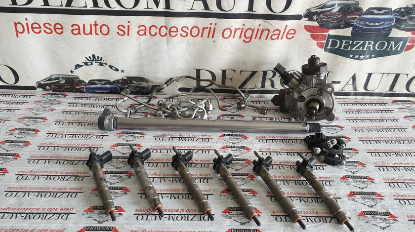 Kit injectie (Pompa injectie + Injectoare + Rampa + Conducte) BMW 3 Touring (E91) 325d 3.0 204 cai
