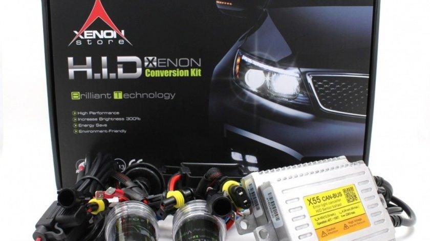 Kit instalatie Xenon HID Canbus HB4 9006, 6000K 55W