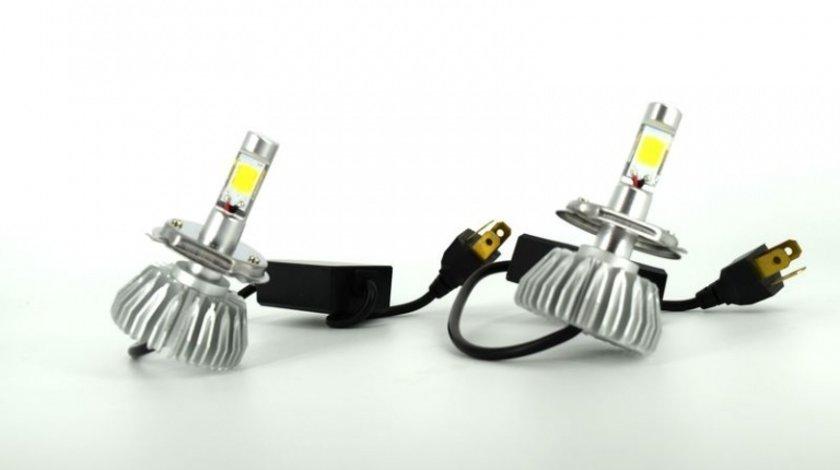 Kit Led H4 Auto Head Light Cree 6000K Silver 25W 2200LM 9-16V