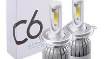Kit Led H7 Auto Head Light Cree 6000K Silver 35W 3...
