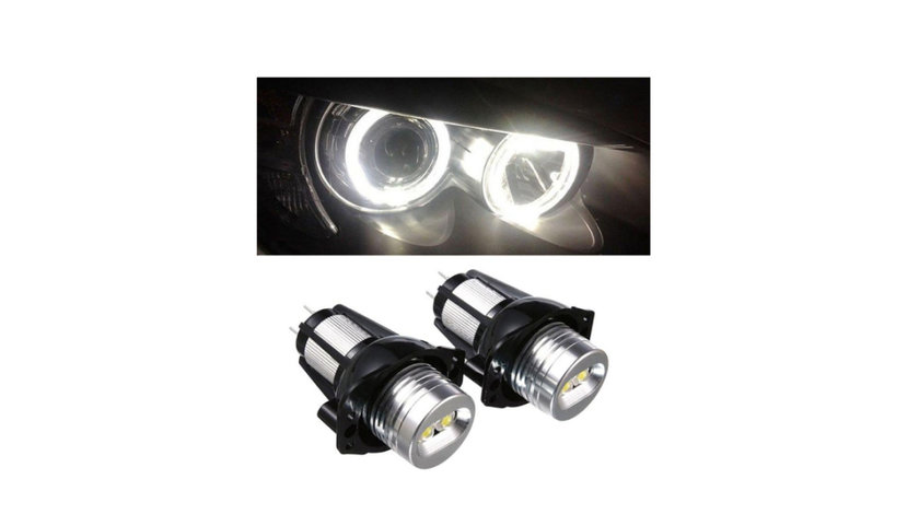 Kit Led Marker Angel Eyes BMW E39 E53 E60 E61 E63 E64 E65 E66 E90
