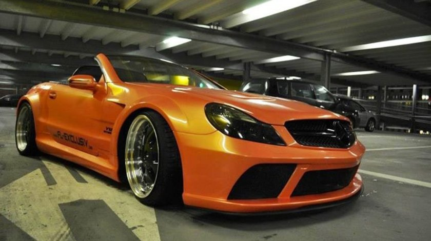 KIt Mercedes Sl 65 Wide Body Amg Black Series