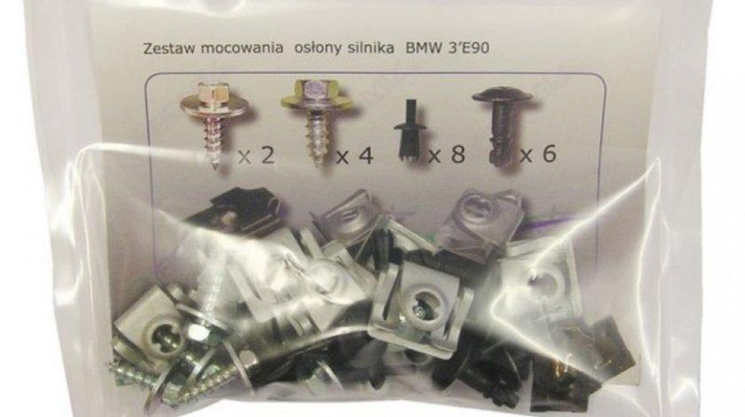 Kit Montaj Scut Motor Romix Bmw Seria 3 E90 2004-2012 ROM 90209
