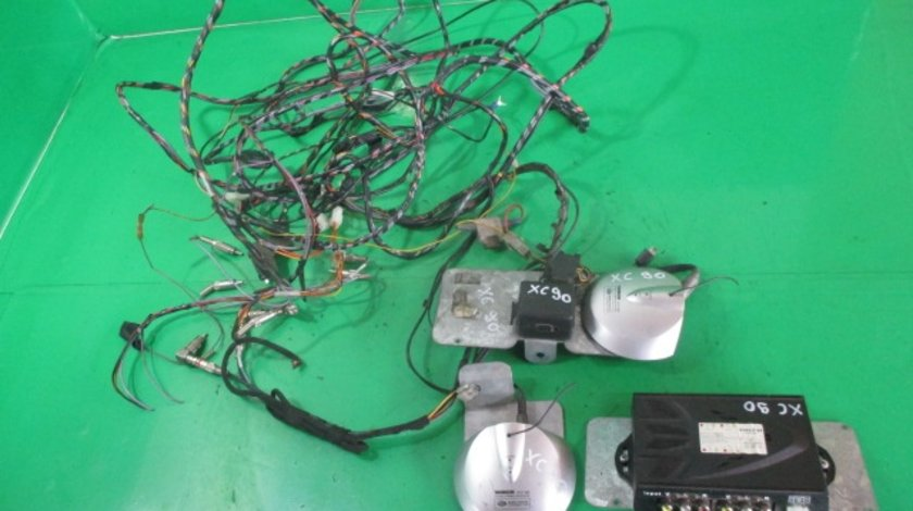 KIT NAVIGATIE / ECRAN / MONITOR / DVD CU INSTALATIE ELECTRICA COD VSB2X2 VOLVO XC90 1 FAB. 2002 - 2014