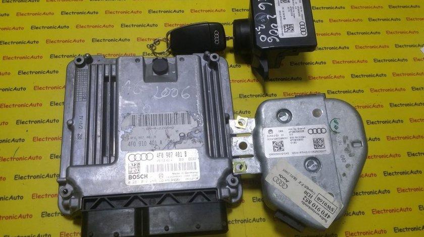 Kit pornire Audi A6 3.0TDI 0281012269, 4F0907401B, motor BMK