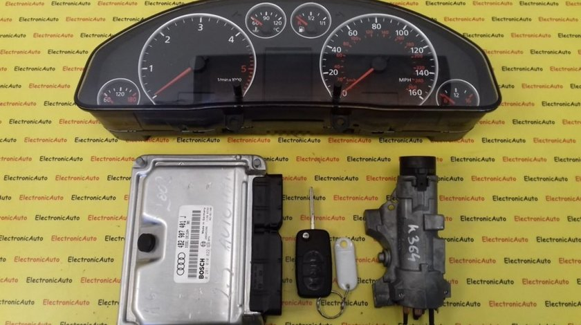 Kit pornire Audi A6 4B2907401J, 0281010822, 4B0920981J