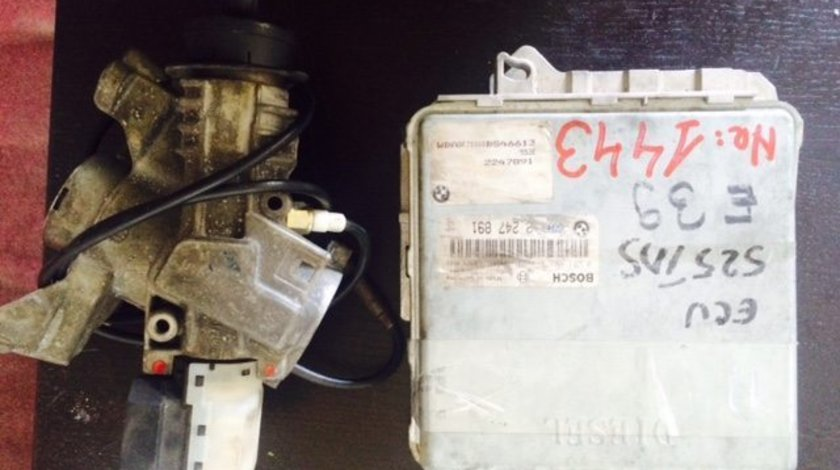 Kit pornire BMW 525 Bosh cod calculator ECU 0281001373