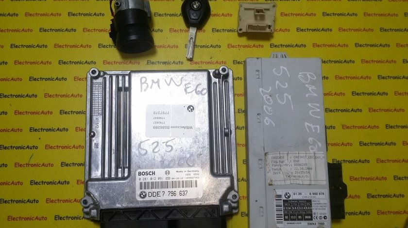 Kit pornire Bmw 530D 0281012091 DDE7796637