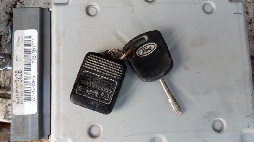 Kit pornire ,calculator motor ,ECU,Ford Transit 2.0 tddi,cod3C11-12A650-AB
