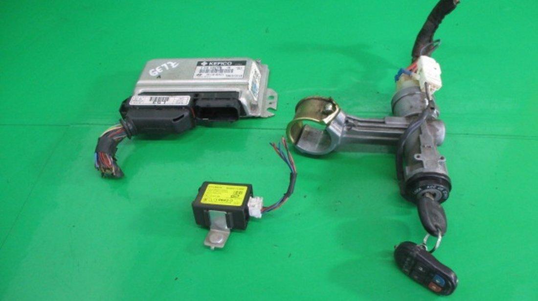 KIT PORNIRE / CALCULATOR MOTOR / ECU HYUNDAI GETZ 1.1 BENZINA FAB. 2002 – 2011 ⭐⭐⭐⭐⭐