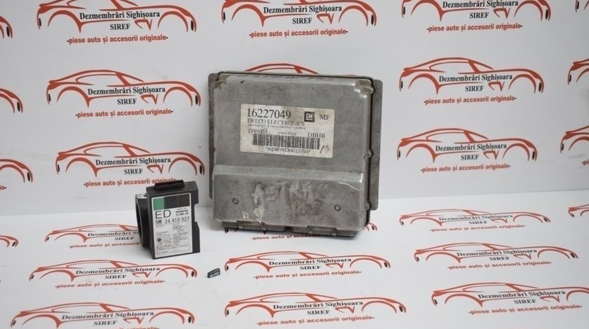 Kit pornire Calculator motor Opel Astra G 1.6 benzina 2000 138
