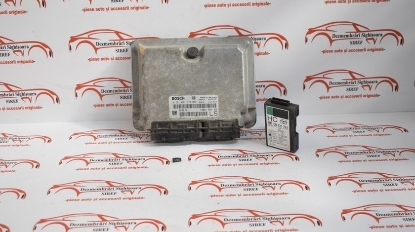 Kit pornire Calculator motor Opel Astra G 1.7 Td 2000 236