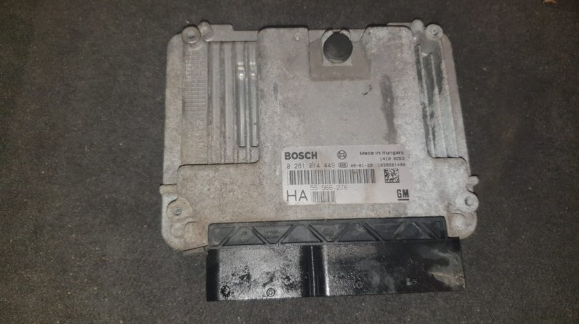 Kit pornire ECU Calculator motor Opel Vectra C 1.9CDTI - 0281014449