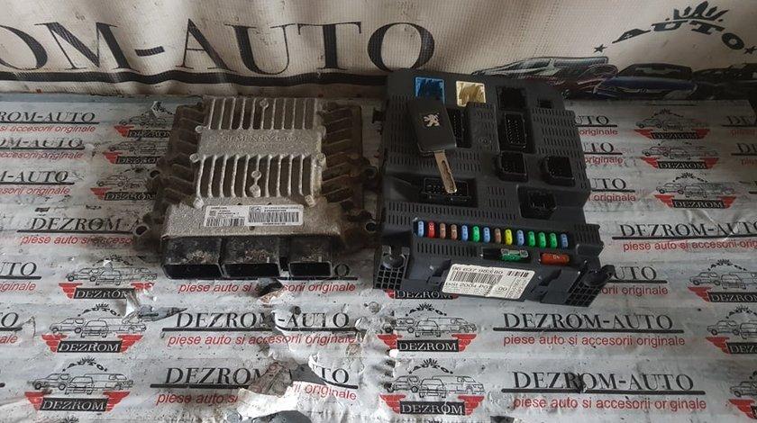 Kit pornire Ecu cod 9664807480 9661642180 SID803A Bsi cod 9663798380 Peugeot expert 2.0 hdi RHK 120