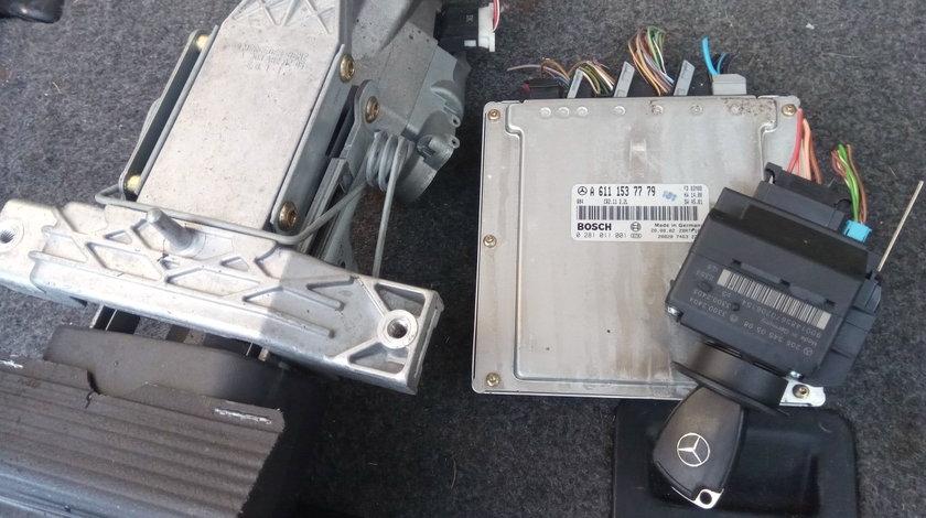 Kit pornire,ECU, Mercedes C 220 W 203,2.2 cdi,A6111537779,Euro3