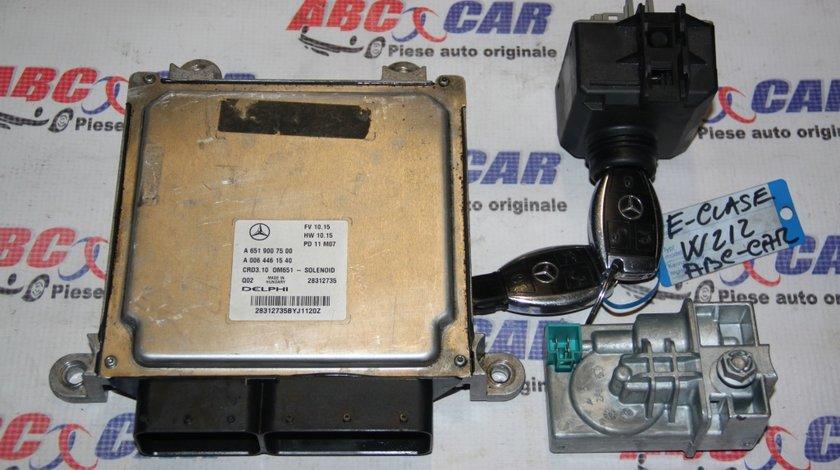 Kit pornire Mercedes E-Class W212 2.2 CDI Automat cod: A6519007500 / A0064461540 model 2012