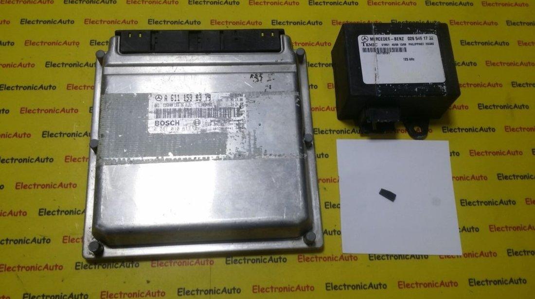 Kit pornire Mercedes Sprinter 2.2CDI 0281010617, A6111536379, CR2.35