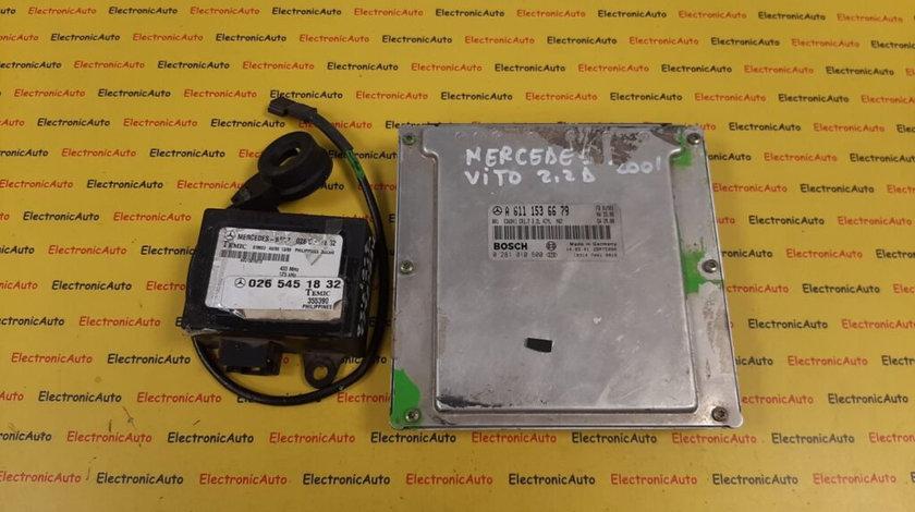 Kit pornire Mercedes Vito 2.2 A6111536679, 0281010600 (W3AZD1)