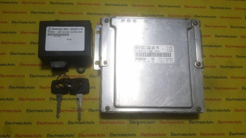 Kit pornire Mercedes Vito 2.2CDI A6111536879, 0281010602