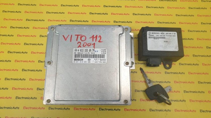 Kit pornire Mercedes Vito 2.2CDI A6111536979, 0281010603 (8SQW2)