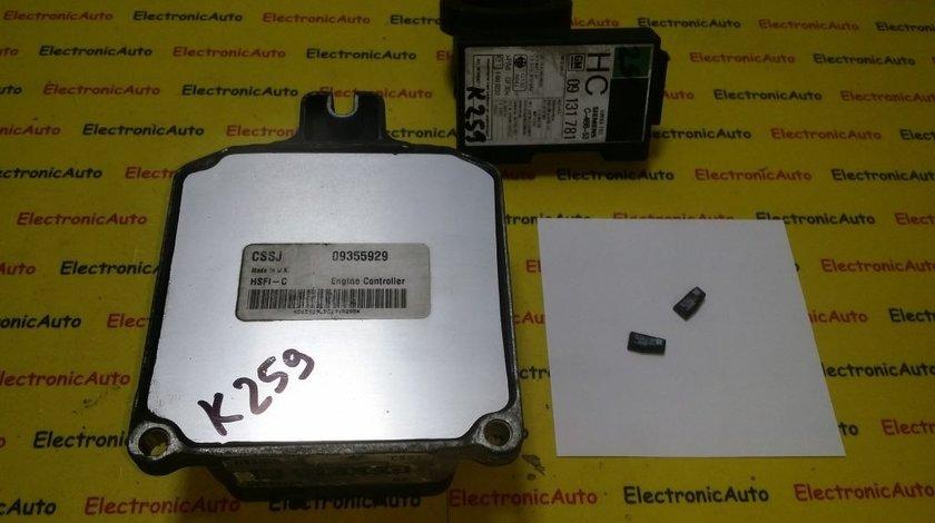 Kit pornire Opel Astra G 1.6 09355929, D98005, X16XEL