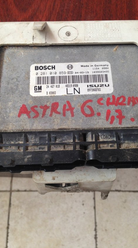 kit pornire opel astra g 1.7 cdti 2004