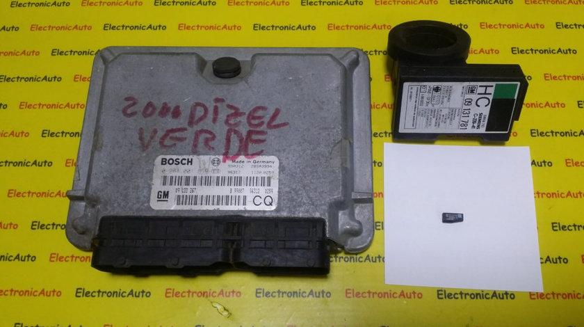 Kit Pornire Opel Astra G 2.0 DTI, 0281001869, 09133267