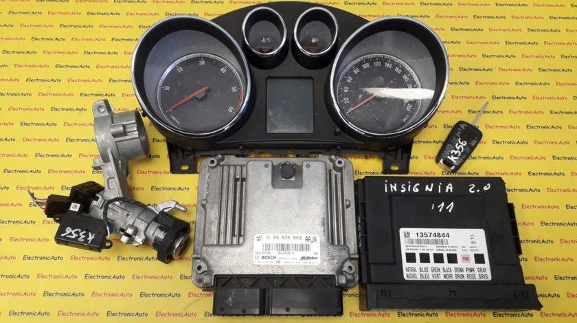 Kit pornire Opel Insignia 2.0CDTI 0281016704, 55574903