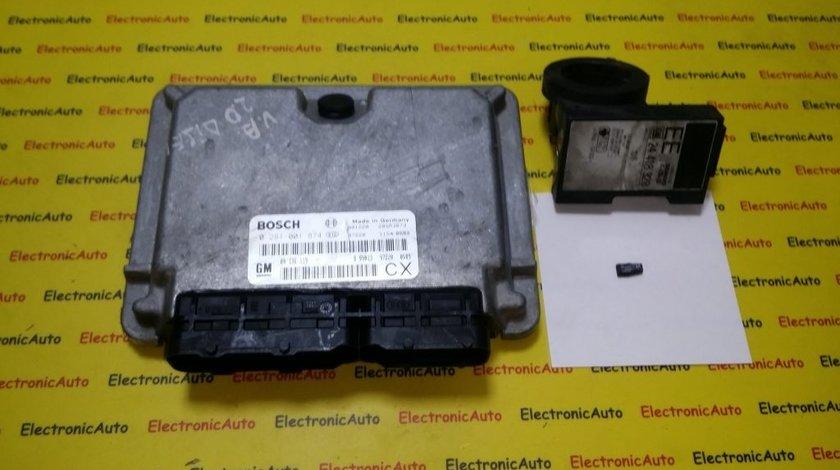 Kit pornire Opel Vectra B 2.0DTI 0281001874, 09136119