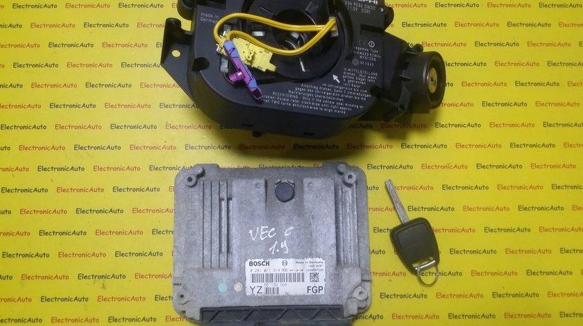 Kit pornire Opel Vectra C 1.9CDTI 0281011914, 55193968