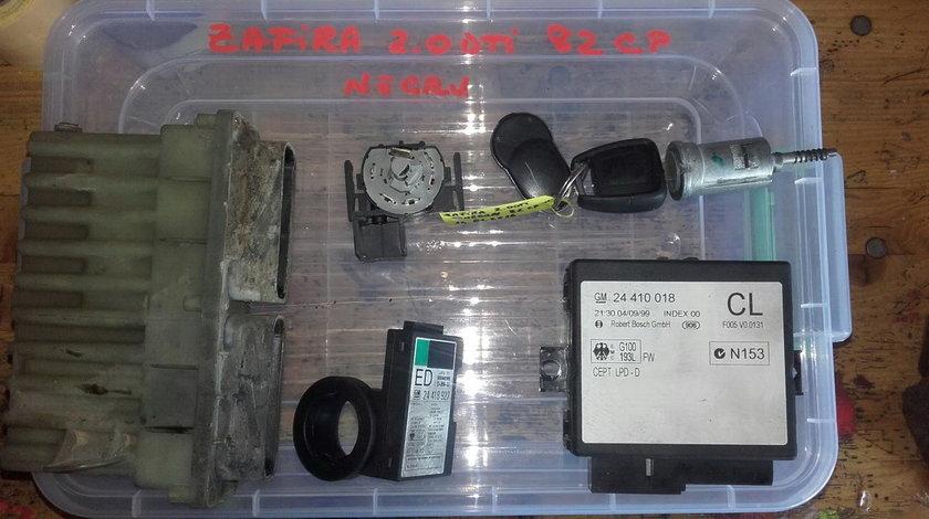Kit pornire Opel Zafira. 2.0DTi, fabr. (1999 - 2005)