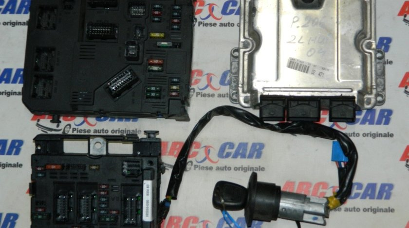 Kit pornire Peugeot 206 2.0 HDI model 2004