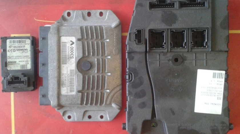 Kit pornire renault megane2 1.4, 60kw/82cp, 2003, cod motor K4J732