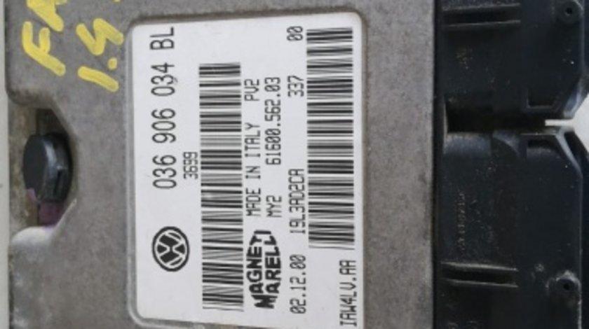Kit pornire Skoda Fabia 1.4 benzina motor AUA cod 036906034 BL