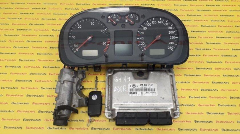 Kit pornire VW Golf 4 1.9 038906019AT, 0281010974